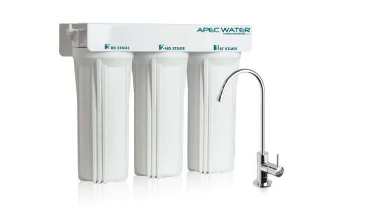 APEC WFS-1000 3 Stage UnderSink Water Filter