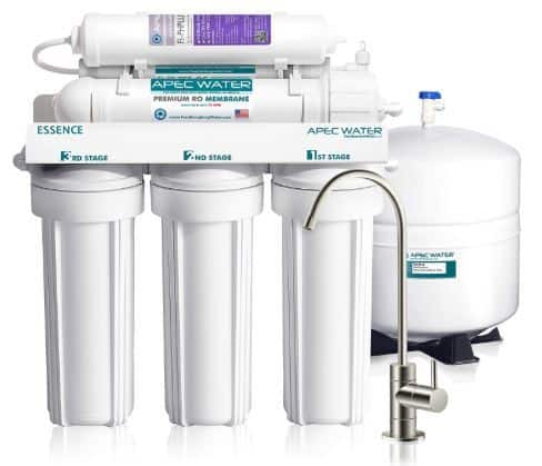 APEC Top Tier Alkaline Mineral pH+ 75 GPD 6-Stage Ultra Safe Reverse Osmosis Water Filter