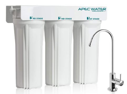 APEC WFS-1000 Super Capacity Premium Quality 3 Stage Under-Sink Water Filter