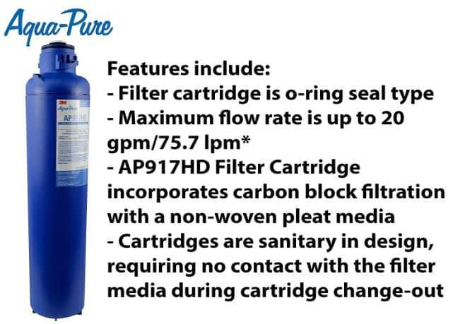 aquapure whole house water filter