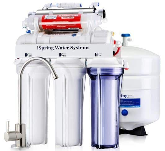 iSpring RCC7AK-UV Under Sink Water Filter
