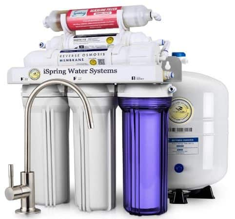 iSpring RCC7AK 6-Stage Under Sink Reverse Osmosis Water Filter
