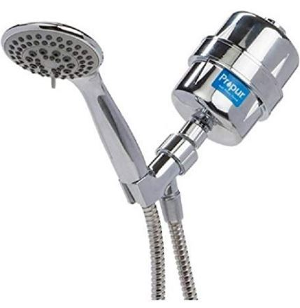 Showerhead Fluoride Filters