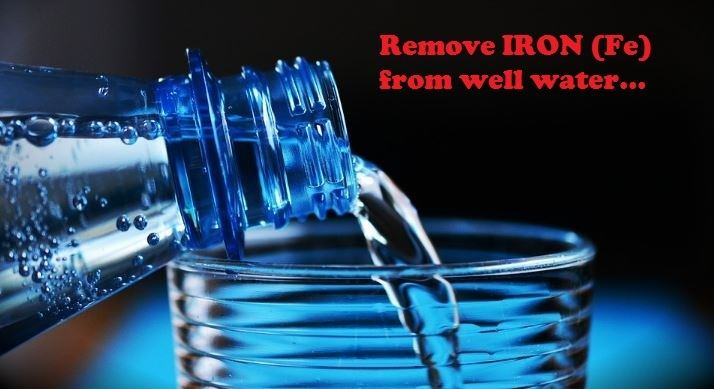 water filtration for iron