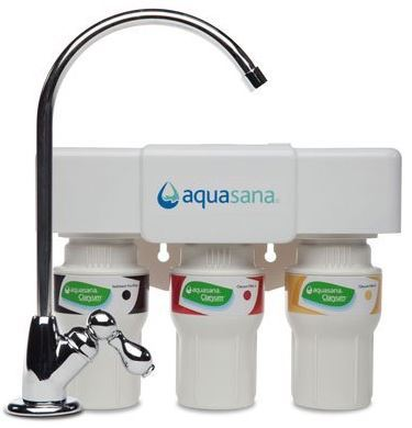 Aquasana AQ-5300 3-Stage Under Sink Water Filter