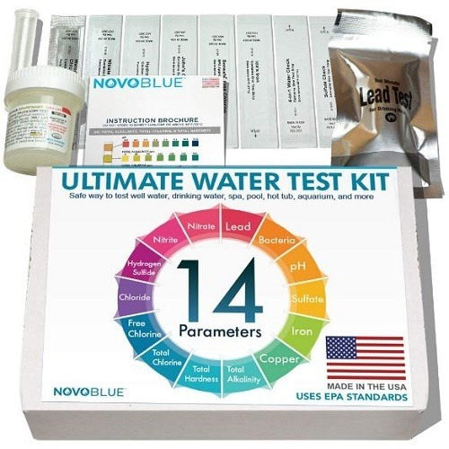 NovoBlue Home Water Test Kit