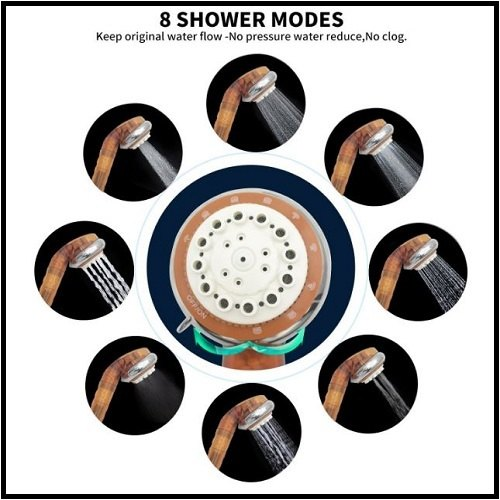 Geekpure 8 shower modes