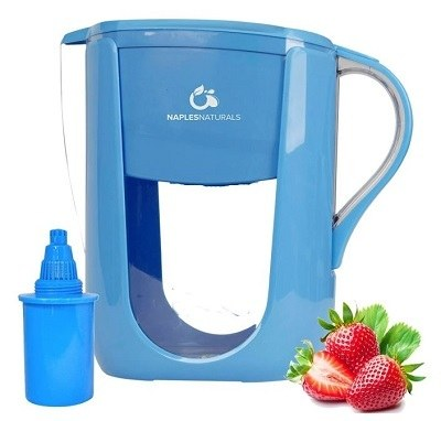Naples Naturals Alkaline Water Filter Pitcher