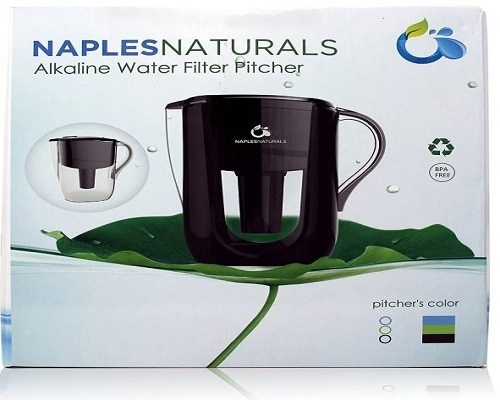 Naples Naturals water filter pitcher