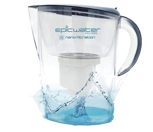 epic Nano water filter pitchers