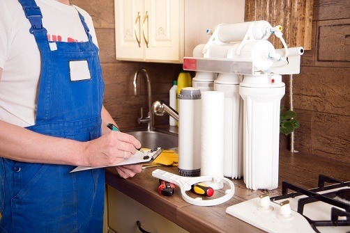 how to sanitize reverse osmosis system